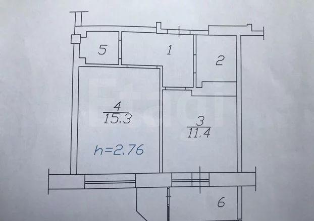 Продажа 1-комнатной квартиры, Красноярск, Авиаторов,  23