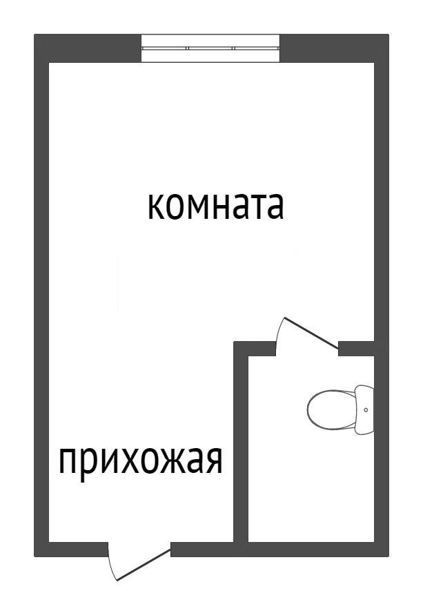 Продажа 1-комнатной квартиры, Красноярск, Аэровокзальная,  8ж