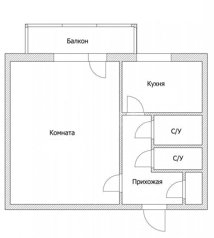 Продажа 1-комнатной квартиры, Красноярск, Партизанская,  72