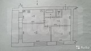 Красная Ушна, Заводская, 9, 2-к. квартира на продажу