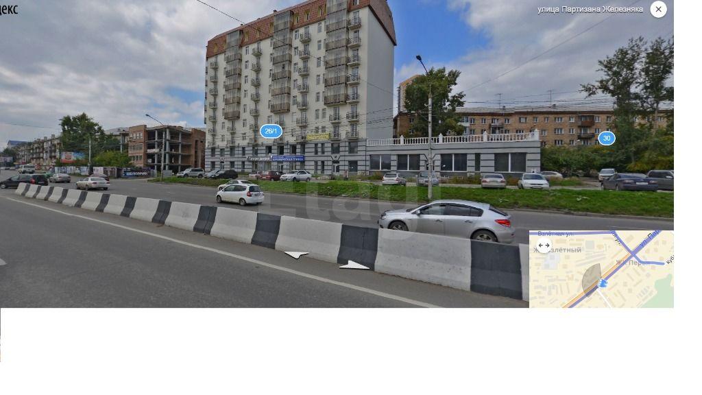 Продажа 2-комнатной квартиры, Красноярск, Партизана Железняка,  26а