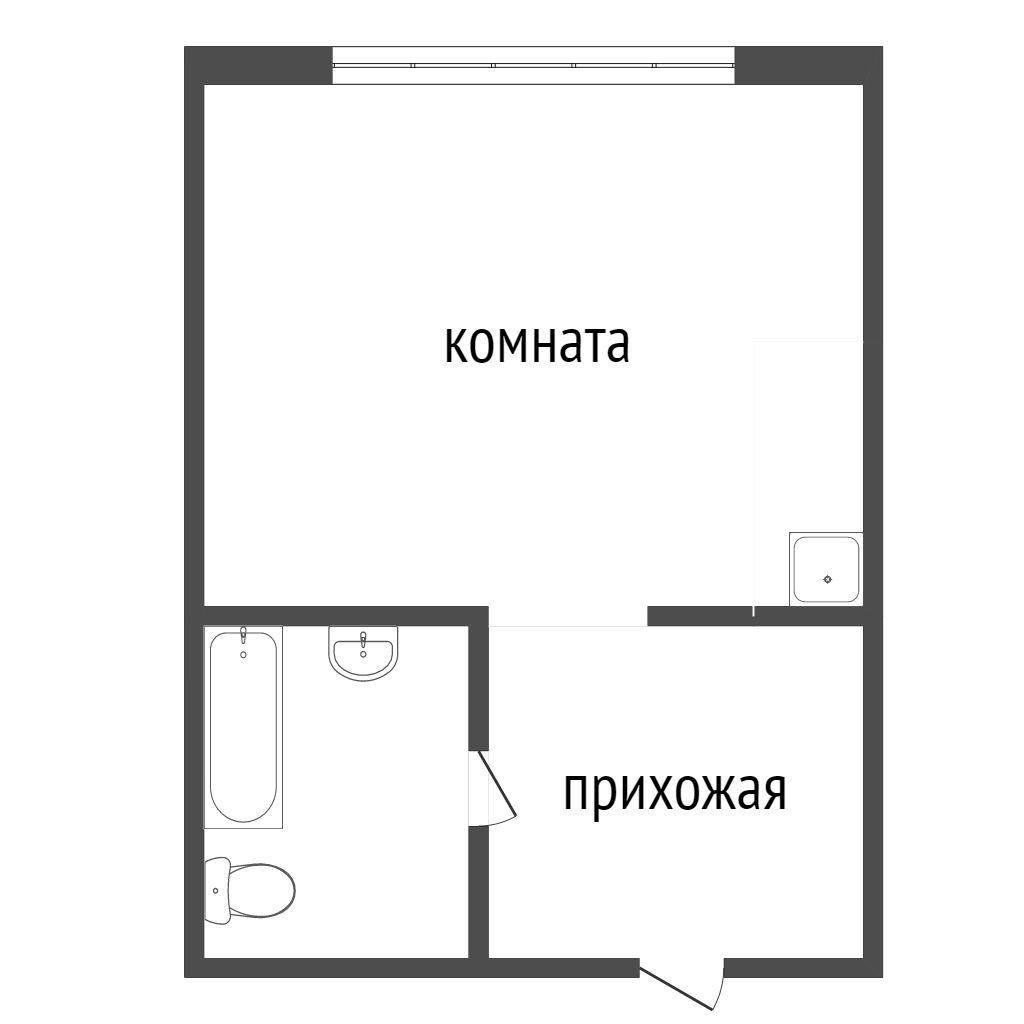 Продажа 1-комнатной новостройки, Красноярск, Калинина,  ЖК Мариинский дом 9.1 (Глобус-ЮГ)